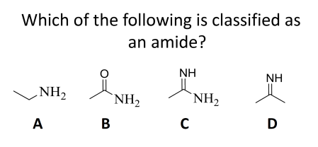 amide question